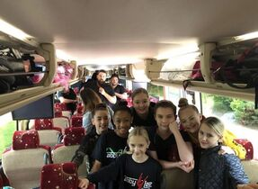 814 Team on the bus
