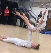 812 Brady and Lilliana rehearsal