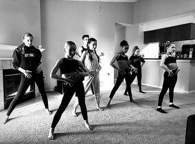 814 Group rehearsal