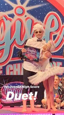 812 Brady and Lilliana award