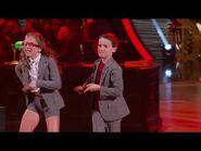 Jason Mayburn & Elliana Walmsley - DWTS Juniors Week 1 Cha Cha