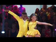 Artyon Celestine & Ariana Greenblatt - Cha Cha - Dancing With The Stars Juniors - DWTS - Ep 1