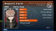 Makoto Naegi Report Card (Talent Reveal).jpg