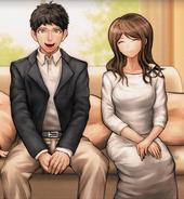 Makoto & Komaru Naegi's Parents