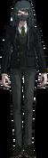 Danganronpa V3 Korekiyo Shinguji Fullbody Sprite (High School Uniform) (1)