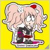 Danganronpa x Jun Watanabe Sticker Junko Enoshima