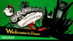 Danganronpa 1 CG - Chapter Card (Prologue)