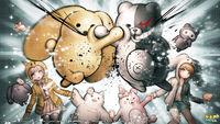 Wooser's Hand-to-Mouth Life x Danganronpa Crossover Illustration by Rui Komatsuzaki.jpg