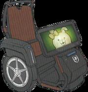 Danganronpa 3 Miaya Gekkogahara's Wheelchair.png