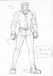 Danganronpa 3 - Character Profiles - SHSL Street Fighter (Sketches)
