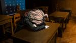 Danganronpa 1 CG - Makoto Naegi waking up (1)