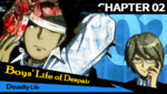 Danganronpa 1 CG - Chapter Card Deadly Life (Chapter 2)