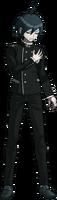 Danganronpa V3 Shuichi Saihara Fullbody Sprite (No Hat) (2)
