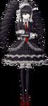 Danganronpa Celestia Ludenberg Fullbody Sprite (Mobile) (15)