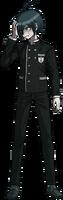 Danganronpa V3 Shuichi Saihara Fullbody Sprite (No Hat) (15)
