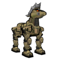 Danganronpa 2 Magical Monomi Minigame Enemies Stage 4 Horse Monobeast