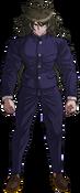 Danganronpa V3 Gonta Gokuhara Fullbody Sprite (High School Uniform) (1)