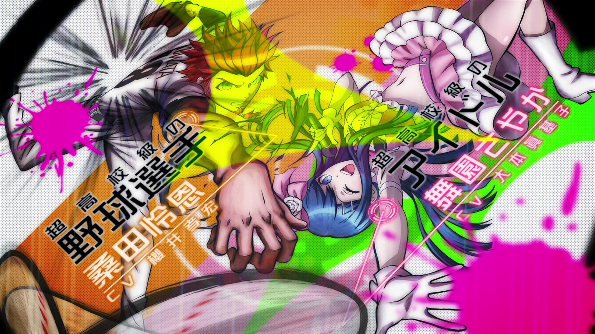 """Danganronpa the Animation OP2 - """"Never Say Never"""""""