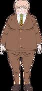 Danganronpa 3 - Fullbody Profile - Ryota Mitari (Imposter)