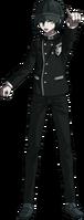 Danganronpa V3 Shuichi Saihara Fullbody Sprite (Hat) (20)