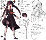 Danganronpa 1 Character Design Profile Genocide Jack.png