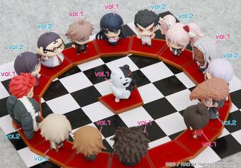 Danganronpa The Animation Chimi Chara FUJISAKI CHIHIRO Figure