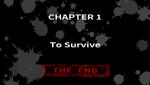 Danganronpa 1 CG - Chapter Card End (Chapter 1)