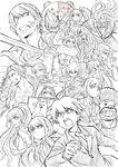 Danganronpa The Stage - Lerche Twitter Sketches - Cast