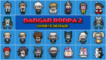 Danganronpa 2 Pixel Graphic Banner