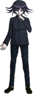Danganronpa V3 Kokichi Oma Fullbody Sprite (High School Uniform) (3)