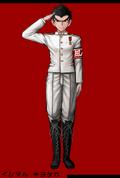 Danganronpa 1 Fullbody Profile Kiyotaka Ishimaru