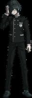 Danganronpa V3 Shuichi Saihara Fullbody Sprite (Hat) (15)