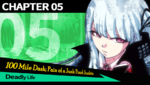 Danganronpa 1 CG - Chapter Card Deadly Life (Chapter 5)
