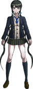 Danganronpa V3 Tenko Chabashira Fullbody Sprite (High School Uniform) (1)