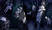 Danganronpa V3 CG - The students despairing at failing the Death Road of Despair (2).png