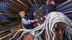 Danganronpa 1 CG - Sakura being attacked by Yasuhiro