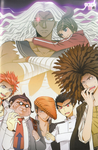 Manga Illustration - Danganronpa Kibō no Gakuen to Zetsubō no Kōkōsei Comic Anthology Volume 3 (3)
