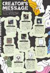 Art Book Scan Danganronpa V3 Creators Message Page 1