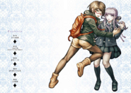 Danganronpa Kirigiri - Volume 3 Bonus Illustration