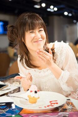 Good Smile Cafe x DRTA 2013 Makiko Visit 03.jpg