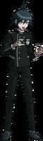 Danganronpa V3 Shuichi Saihara Fullbody Sprite (No Hat) (3)