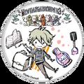 GraffArt Can Badge Rantaro Amami