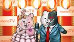 Danganronpa 2 CG - Monokuma and Monomi's show