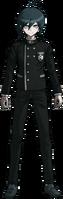 Danganronpa V3 Shuichi Saihara Fullbody Sprite (No Hat) (13)