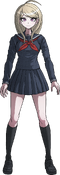 Danganronpa V3 Kaede Akamatsu Fullbody Sprite (High School Uniform) (1)