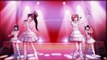Danganronpa 1 CG - Sayaka Maizono's idol group in Sayaka's motive video (2)