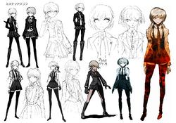 Kyoko Kirigiri Beta Designs 1.2 Reload Artbook.png