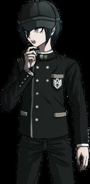 Danganronpa V3 Shuichi Saihara Halfbody Sprite (Hat) (6)