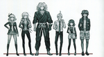 Danganronpa Another Episode Beta Designs The Captives (2)
