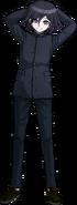 Danganronpa V3 Kokichi Oma Fullbody Sprite (High School Uniform) (2)